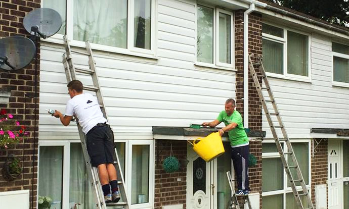 Cladding Installation - The Gutter and Cladding Company