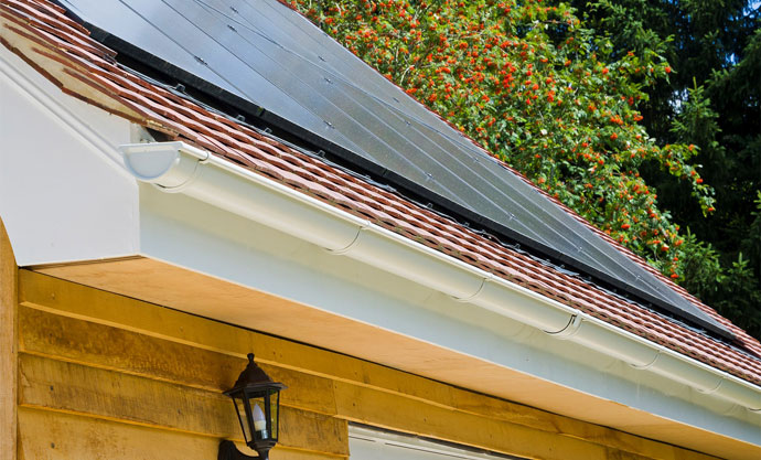 Affordable Steel Guttering - The Gutter and Cladding Company